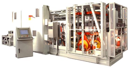 Servo Driven Thermoforming Machine
